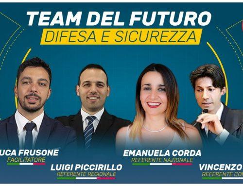 TEAM DEL FUTURO: DIFESA E SICUREZZA
